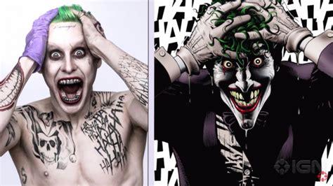 imagenes del joker jared leto david ayer y jared leto hablan de los tatuajes del joker