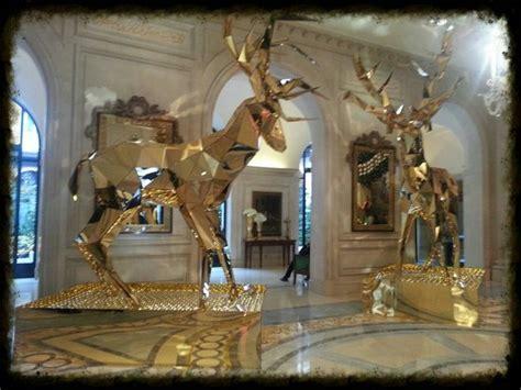 Noël 2013 une décoration féerique!   Photo de Four Seasons Hotel George V Paris, Paris   TripAdvisor