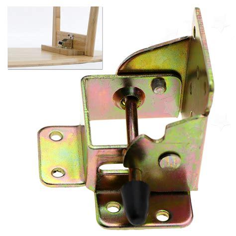 folding table hinge bracket 4x iron locking folding table chair leg brackets hinge