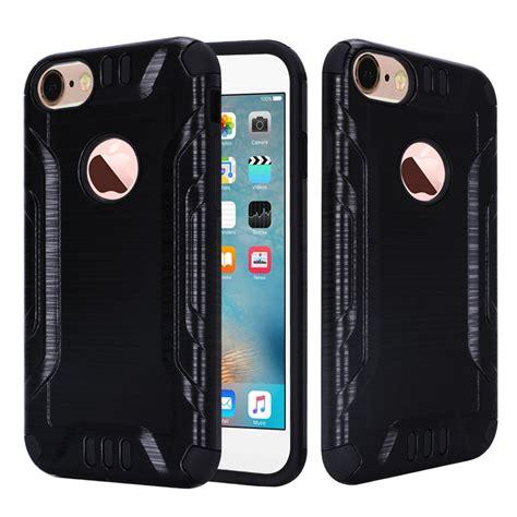 for apple iphone 7 7 plus brushed metallic metal aluminum cover ebay
