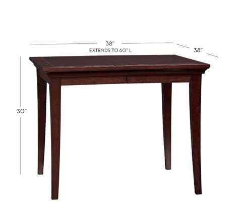 Metropolitan Dining Table Metropolitan Extending Dining Table Pottery Barn