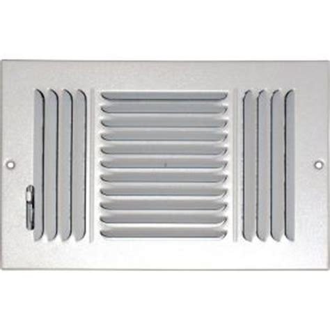 Ceiling Air Register by Speedi Grille 8 In X 10 In Ceiling Sidewall Vent