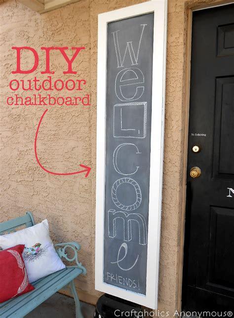diy chalkboard sign tutorial craftaholics anonymous 174 diy outdoor chalkboard