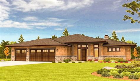prairie style house plans with walkout basement prairie style house plans with walkout basement 28 images plan 6966am modern