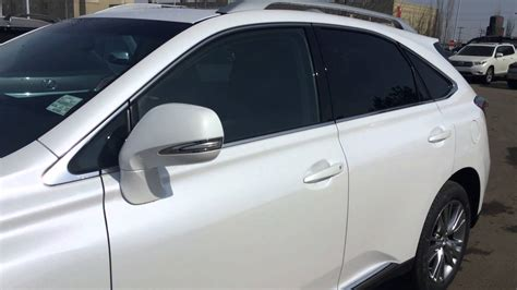 lexus white pearl 2014 lexus rx 350 awd white starfire pearl on black