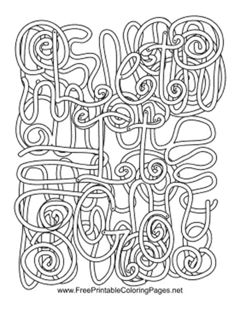 Coloring Pages With Hidden Words | let go hidden word coloring page
