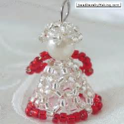 Beaded christmas angel bead jewelry making christmas special