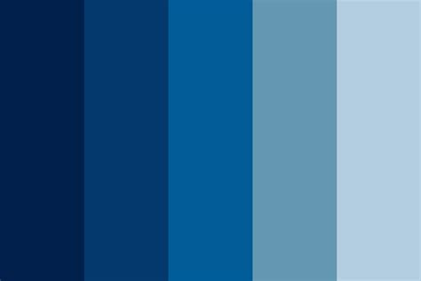 blue color palette powerpoint tutorial how to use a color scheme in