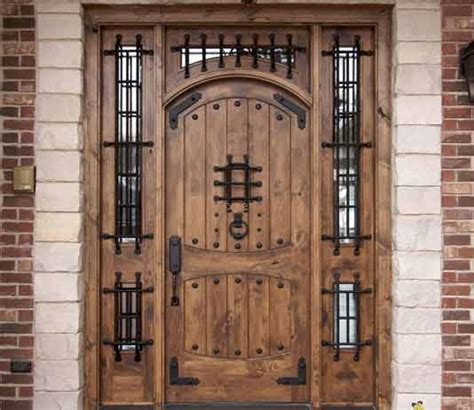 give  home  stylish   wooden style main gate