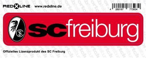 Aufkleber Kaufen Freiburg by Sc Freiburg Aufkleber Sticker Schriftzug Klein