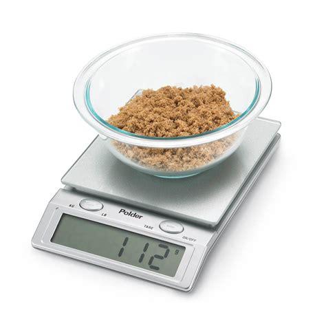 Polder Glass Top Digital Kitchen Scale 11 Pound Cutlery Polder Digital Kitchen Scale