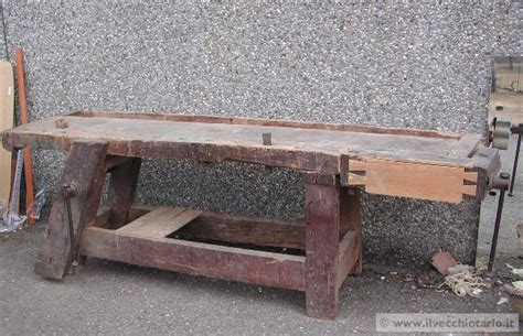 banchi da falegname vecchi antico banco da falegname