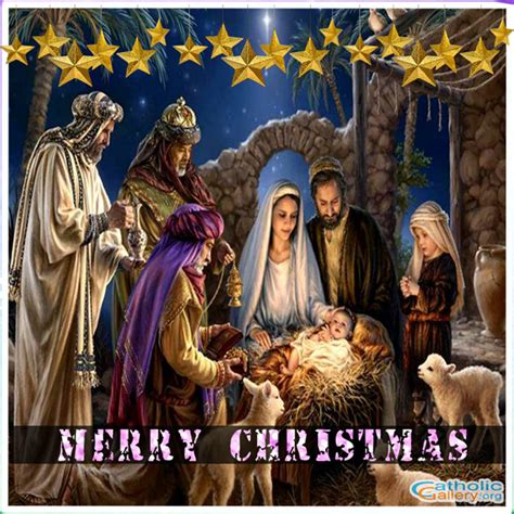 merry christmas gallery page  catholic gallery