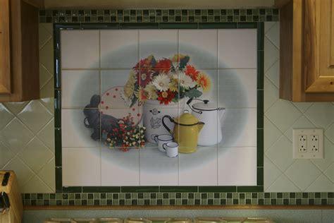 ceramic tile murals for kitchen backsplash custom tilescustom tiles and tile murals