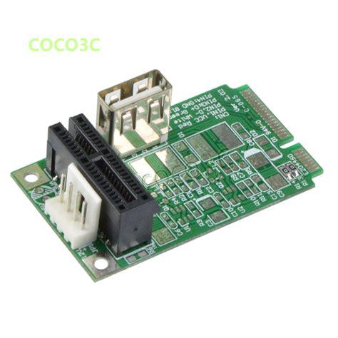 mini adapter mini pcie to pci express 1x slot adapter mini itx mpcie to
