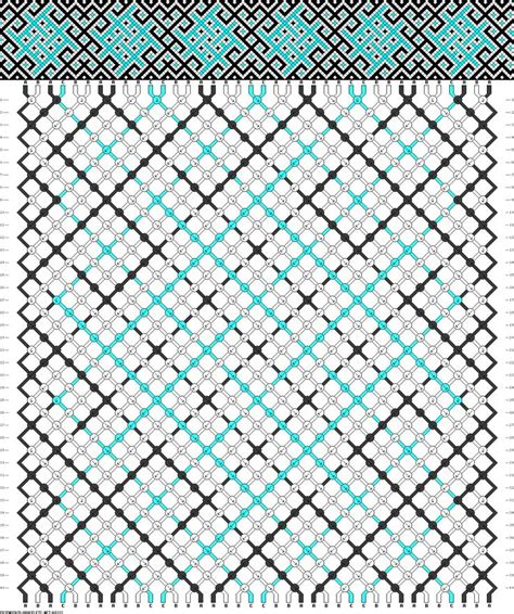 Pola Motif Chevrons Pattern 608 best friendship bracelet patterns to make images on