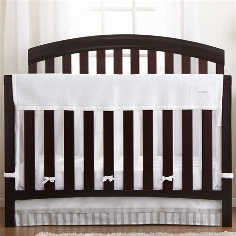 Breathable Baby Crib Shield Breathablebaby Cribshield Coverage Mesh