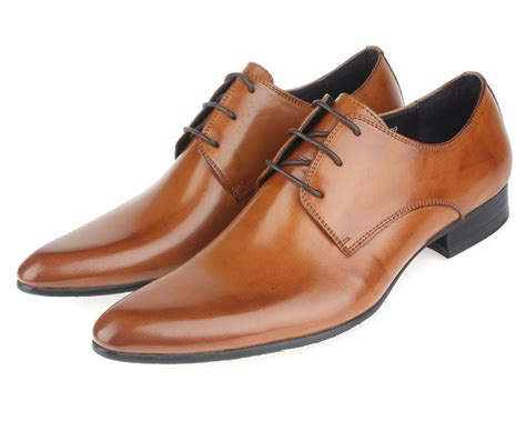 mens brown oxford dress shoes aliexpress buy sale 2016 brown mens oxford