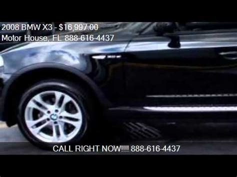 motor house plantation 2008 bmw x3 3 0si for sale in plantation fl 33317
