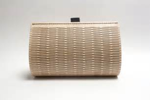 Rugs For Boats Roll With It Stylish Laser Cut Wood And Leather Handbag