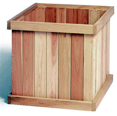 Square Planter Box Plans by Cedar Creek Woodshop Porch Swing Patio Swing Picnic