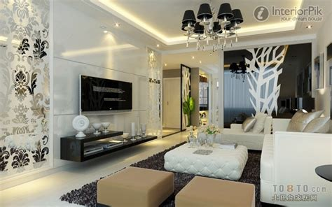 Ceramic Tile Living Room Wall Deluxr Tv Background Wall Ceramic Tiles Decoration 4658