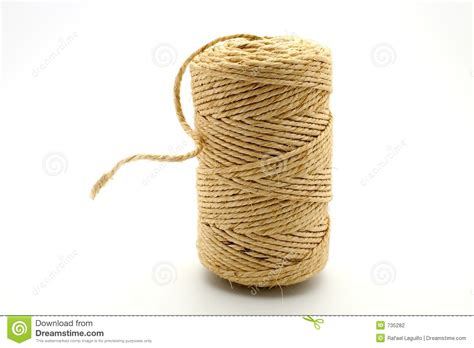 Buy String - linen string stock photography image 735282