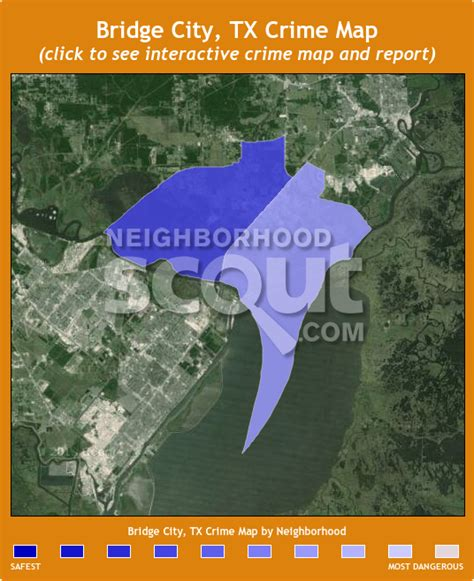 bridge city texas map bridge city 77611 crime rates and crime statistics neighborhoodscout