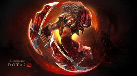 wallpaper dota 2 bloodseeker wallpaper dota 2 bloodseeker monsters warriors fantasy games
