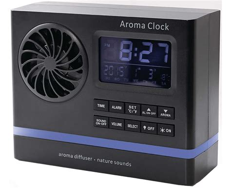 nature alarm clock aroma diffuser sounds smells nature bedside digital scent ebay
