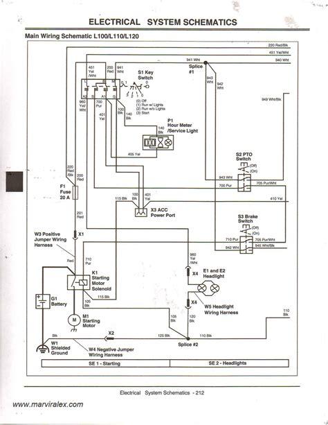 deere wiring diagram deere l120 pto wiring diagram deere gator