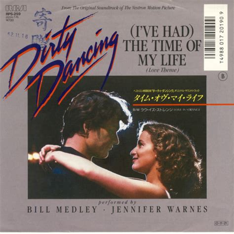 the time of my bill medley jennifer warnes i ve had the time of my life love theme vinyl at discogs