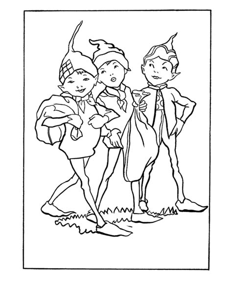 free coloring pages of brownie girl scout