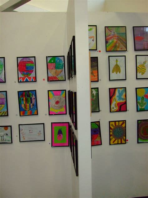 art display ideas children s art on display display gallery wall and