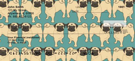 pug checks pug checks pugs and puggles personal checks pugaddict