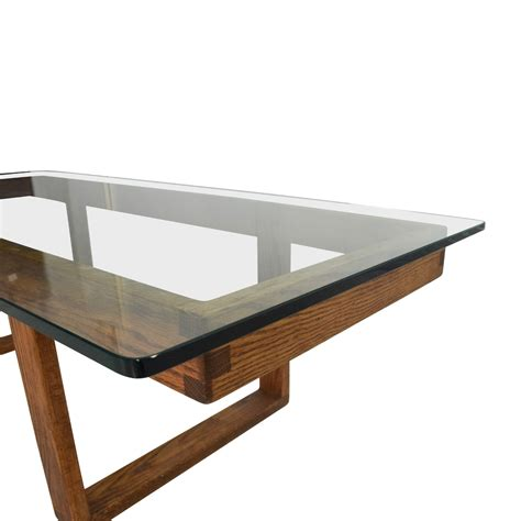 Vintage Glass Coffee Table 60 Unknown Brand Antique Glass Coffee Table Tables