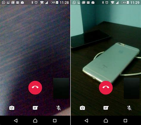 make whatsapp video calls on android