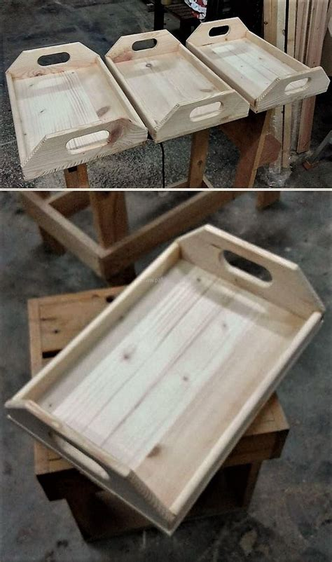 wood pallet serving trays wooden pallet projects wood