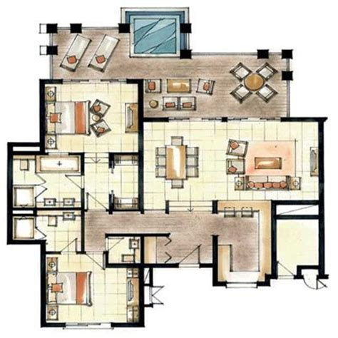 home design floor plans modern world furnishing designer world s nicest resort floor plans floorplans for anahita