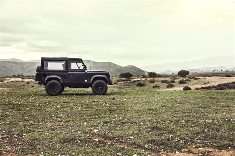 custom land rover icon land rover defender d90 ls3 v8