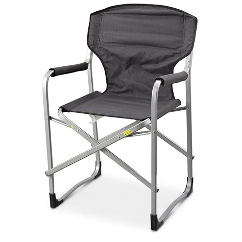 directors chair aluminium mac sports 174 aluminum folding director s chair 156339