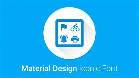 material design font download material design iconic font npm