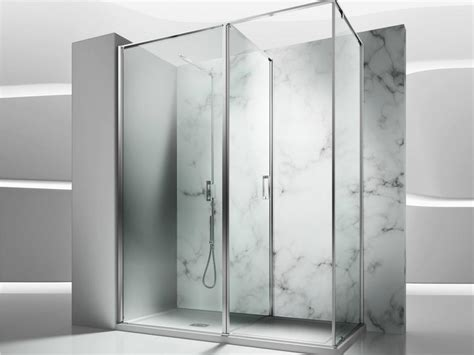 vismara doccia box doccia angolare in vetro temperato in 2 vismaravetro