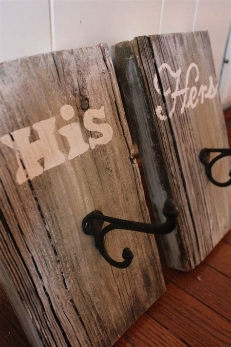 wooden towel hooks for bathrooms rustic towel hooks his hers reclaimed barn wood paint for bathroom towels and