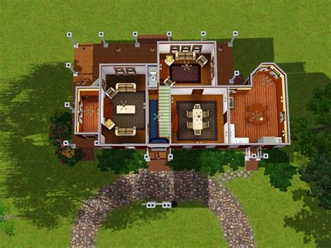 Sims 3 Family House Plans Sims 3 Simple House Plans Studio Design Gallery Best Design