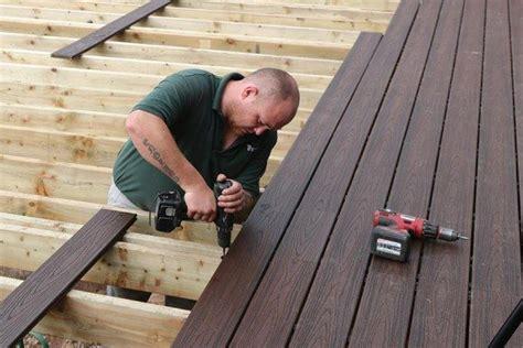 install composite decking arbordeck