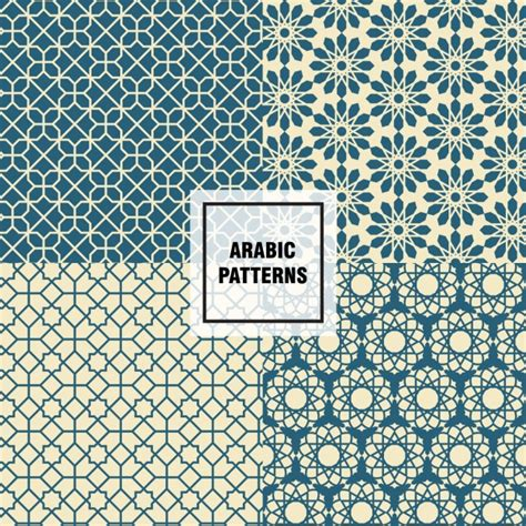 download arabic pattern vector elegant arabic patterns vector free download