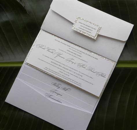 Handmade Wedding Invitations Sydney - 205 best images about wedding crafts on lace