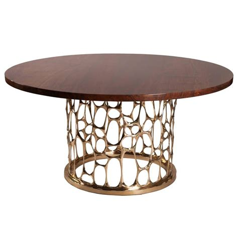 bronze dining table quot homage to gaudi quot bronze dining table by nick king at 1stdibs