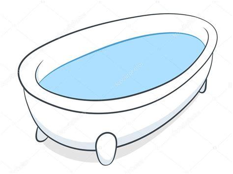 bathtub illustration bathtub full of water stock vector 169 a n 33205427